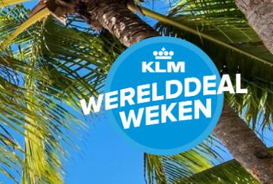 KLM WERELDDEAL WEKEN