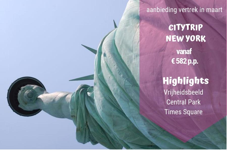 Aanbieding: Citytrip New York