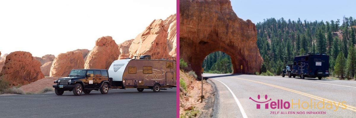 USA roadtrip met de caravan