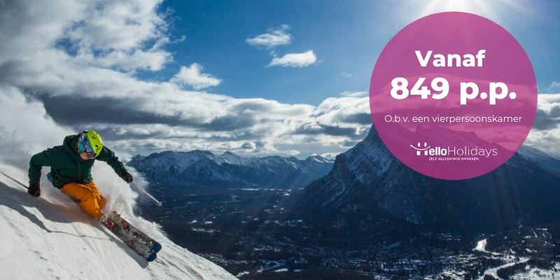 Goedkoop skiën in Canada